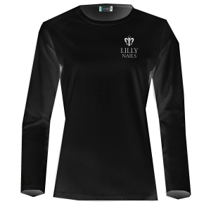 Long Sleeve T-shirt Lilly Black